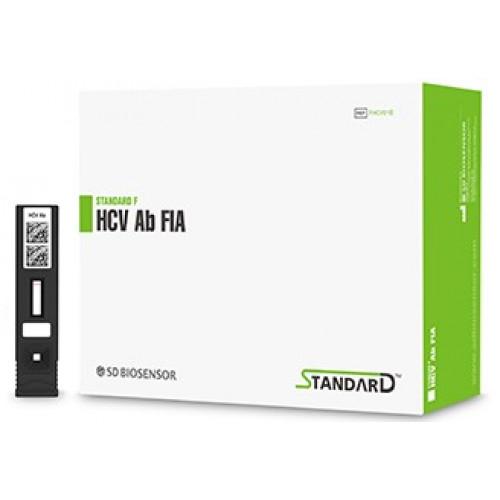 Экспресс-тест STANDARD F HCV Ab FIA