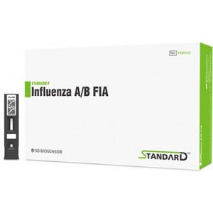 Экспресс-тест STANDARD F Influenza A / B FIA