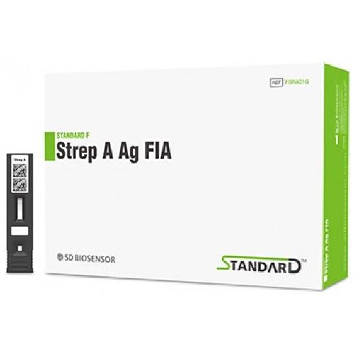 Экспресс-тест STANDARD F Strep A Ag FIA